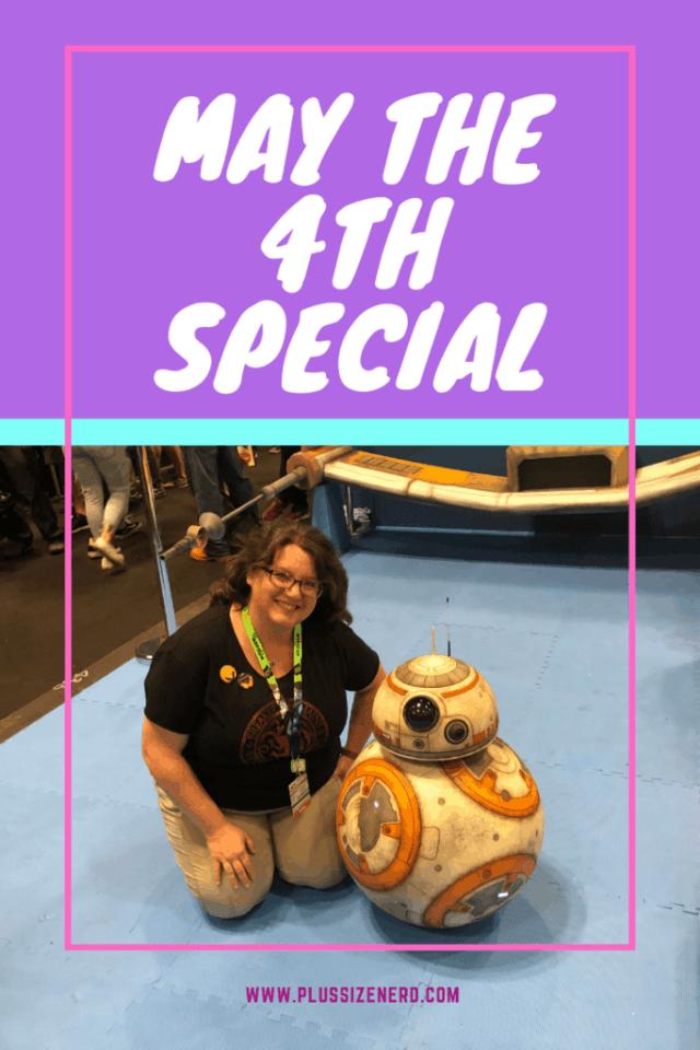 Nancy Basile and BB-8