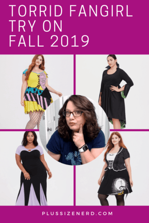 PLUS SIZE TORRID FANGIRL TRY ON PIN