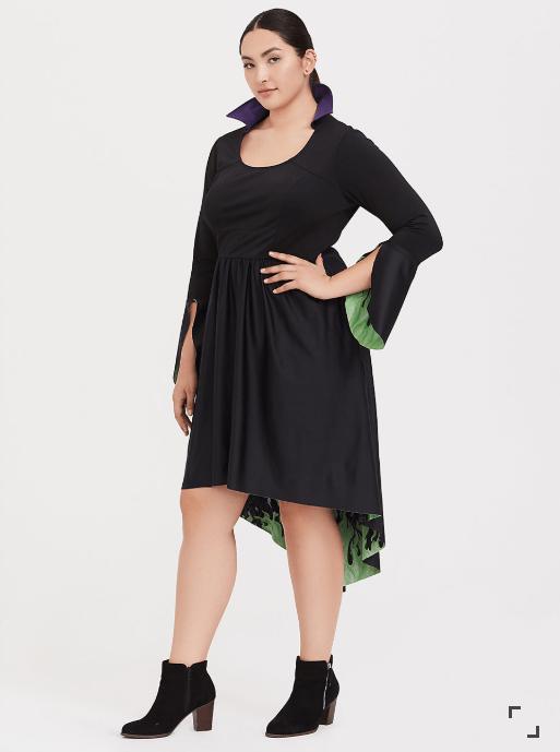 Plus Size Maleficent Dress