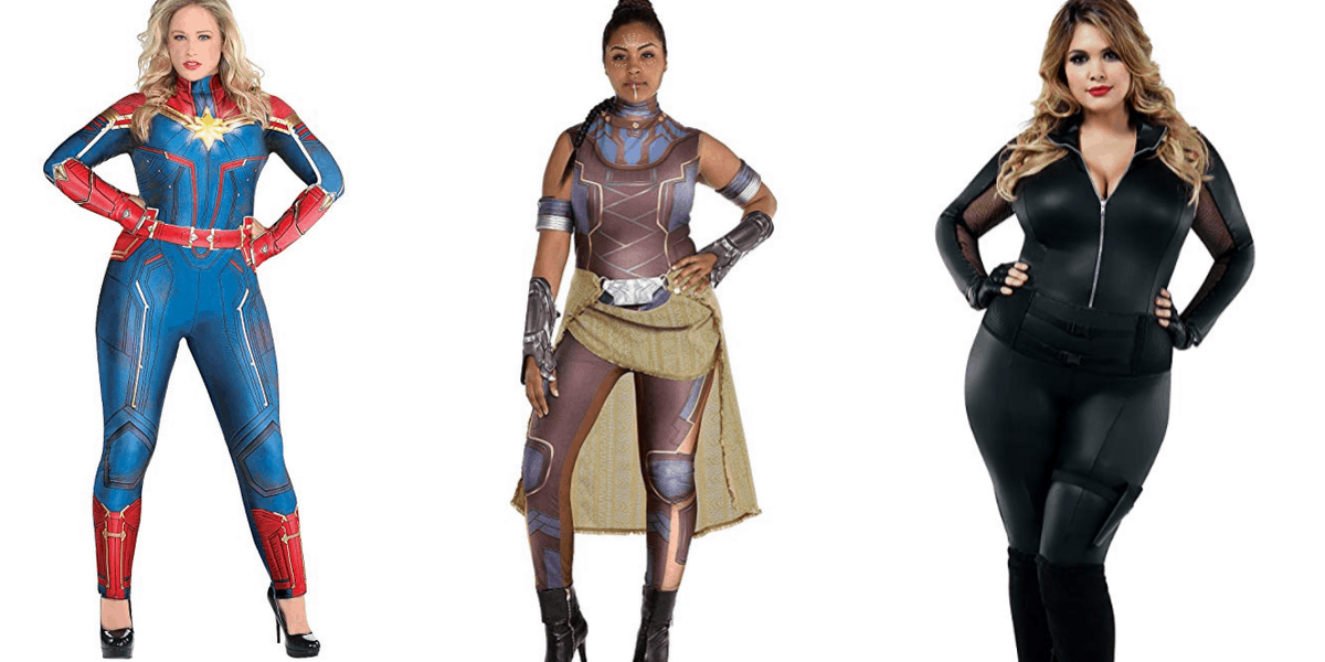 Plus Size Marvel Costumes for Halloween and Cosplay