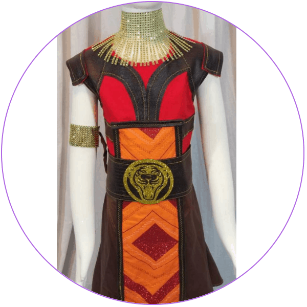 Plus Size Okoye Costume
