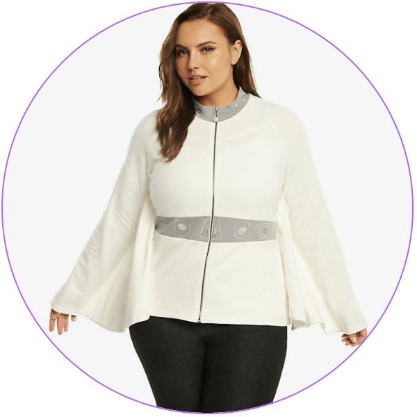 Plus Size Princess Leia Jacket