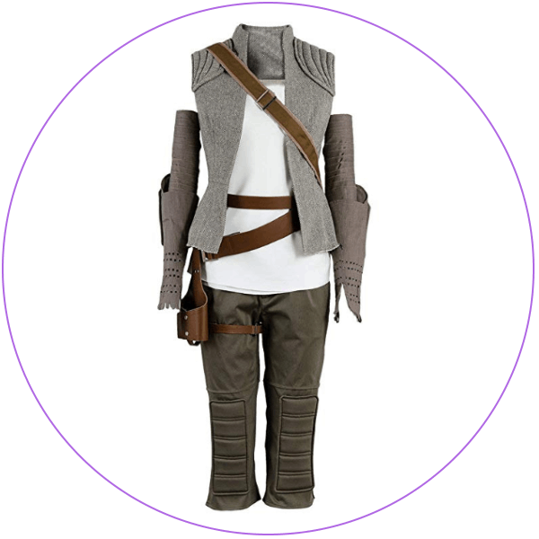 Plus Size Rey Cosplay