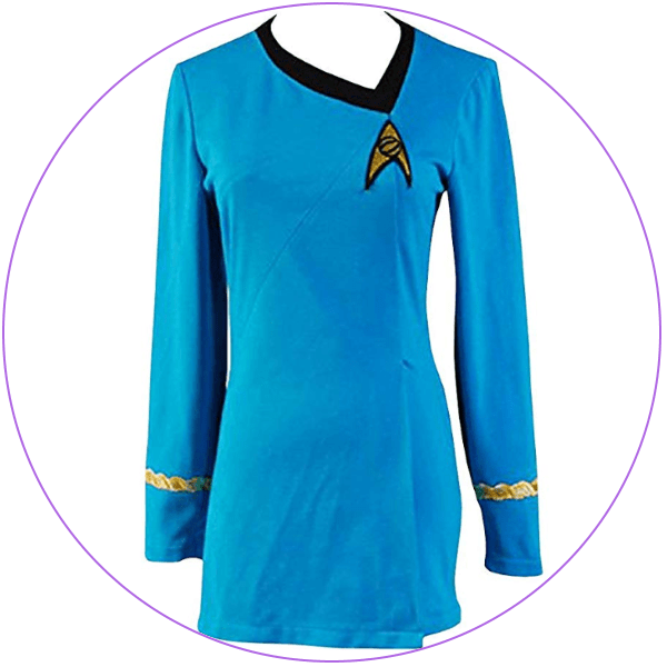 Plus Size Star Trek Blue Costume