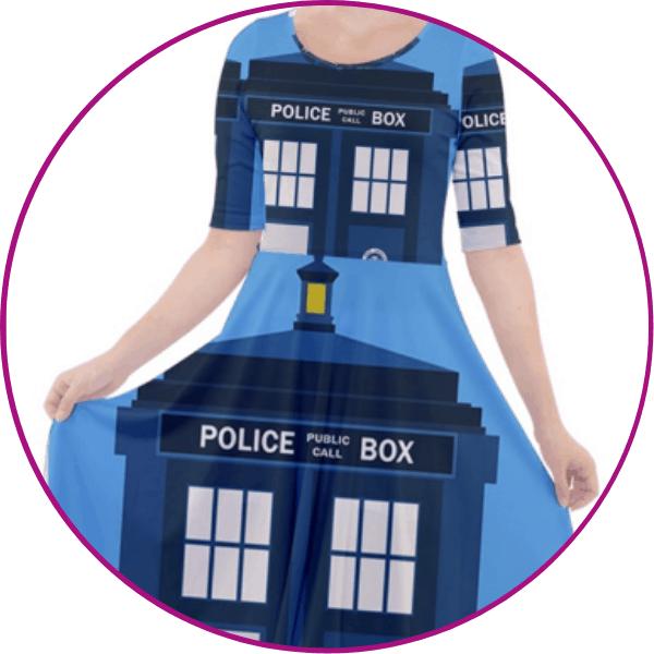 Plus Size Tardis Dress