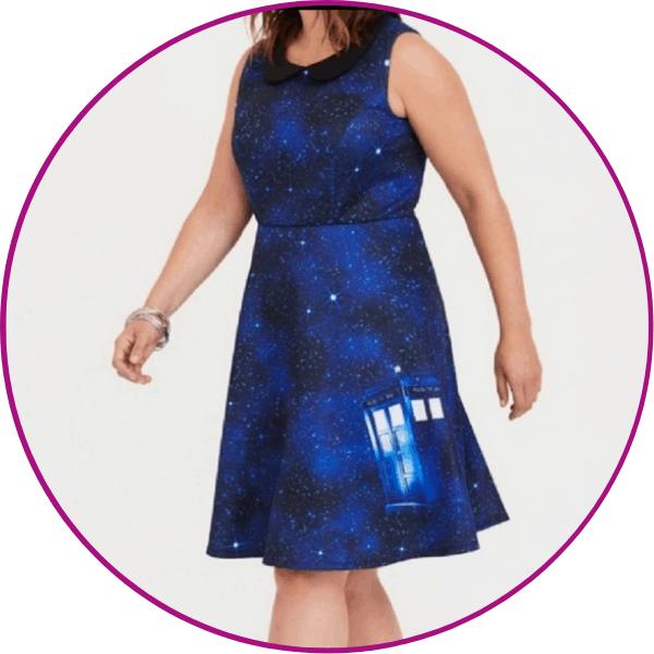 Doctor Who Torrid Dress