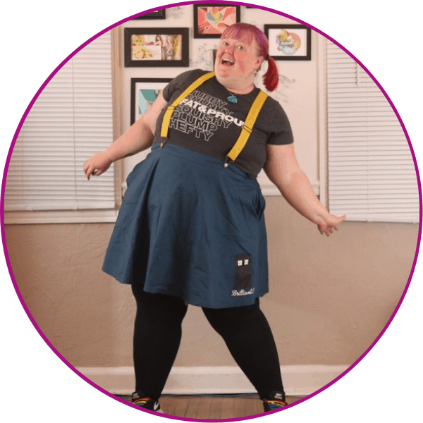 Tardis Jumper Skirt