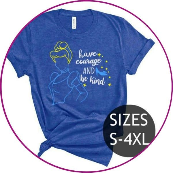 Plus Size Cinderella Shirt