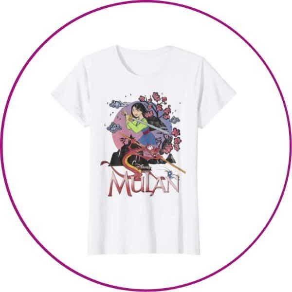 Plus Size Mulan Shirt