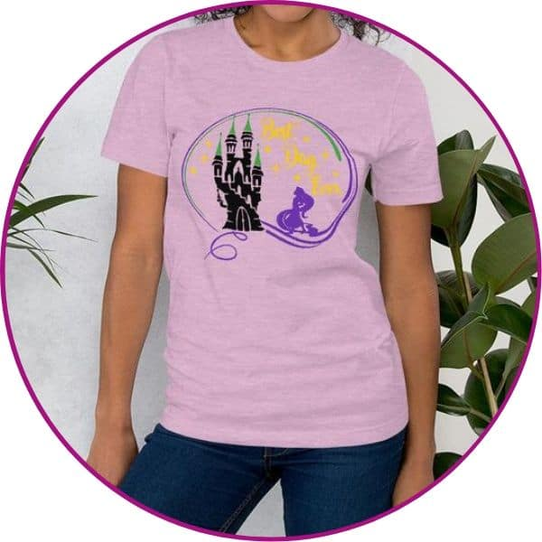 Plus Size Rapunzel Shirt