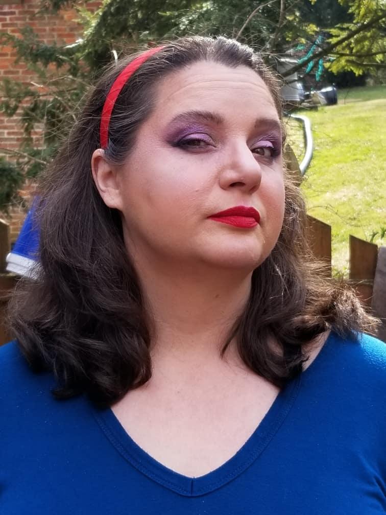 Evil Queen Makeup Look