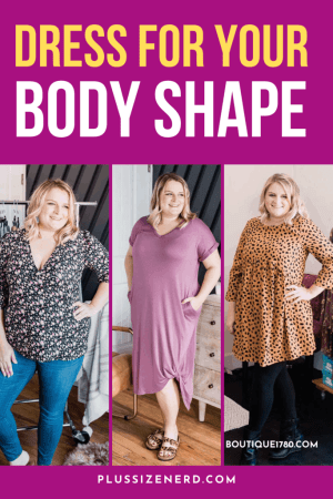 Dress for Your Body Shape Pin