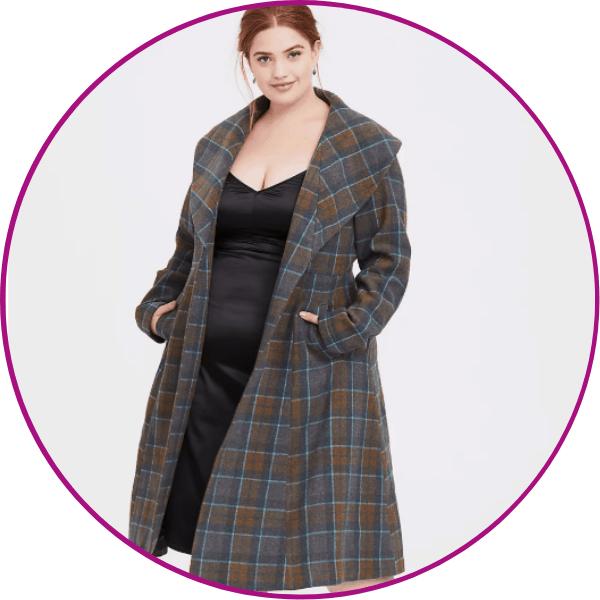 Plus Size Outlander Coat