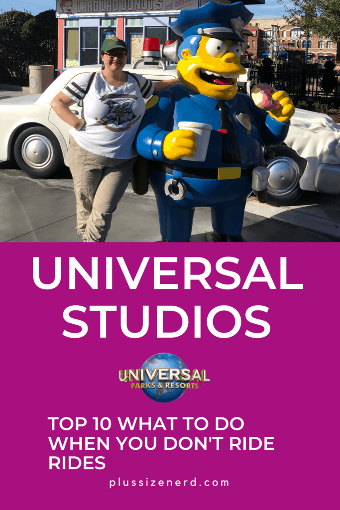 Top 10 Things to Do at Universal Studios That Aren't Rides