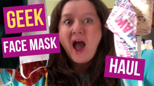 Cloth Face Masks for Geeks