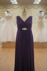 Purple bridesmaids dresses plus size - Plus size wedding ...