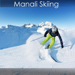Manali Snow Skiing