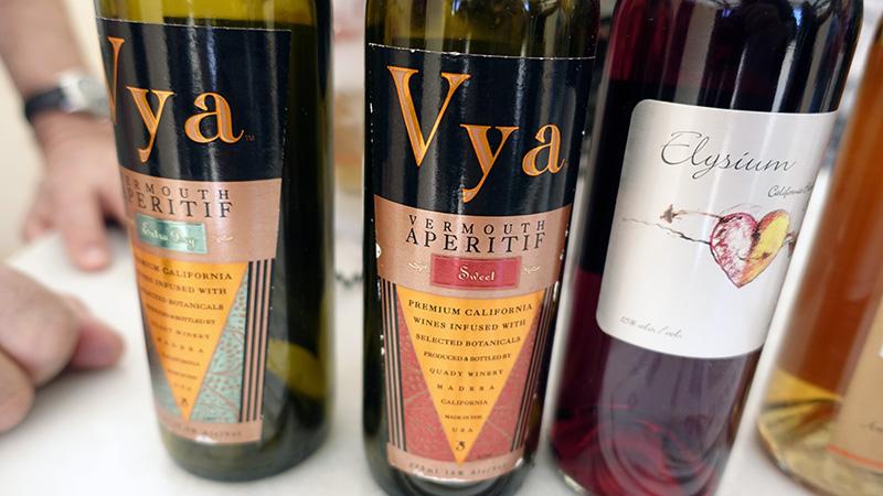 Vermouth de Quady Winery, California.