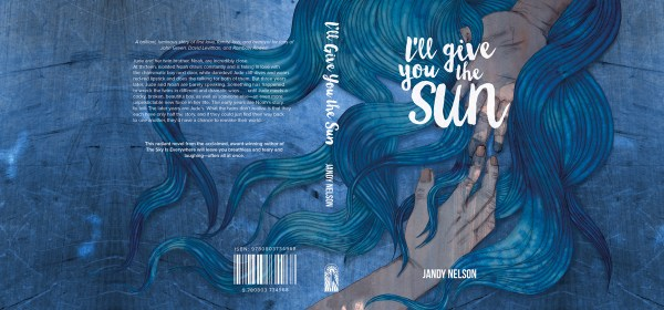 Bookcover design - I'll Give You the Sun