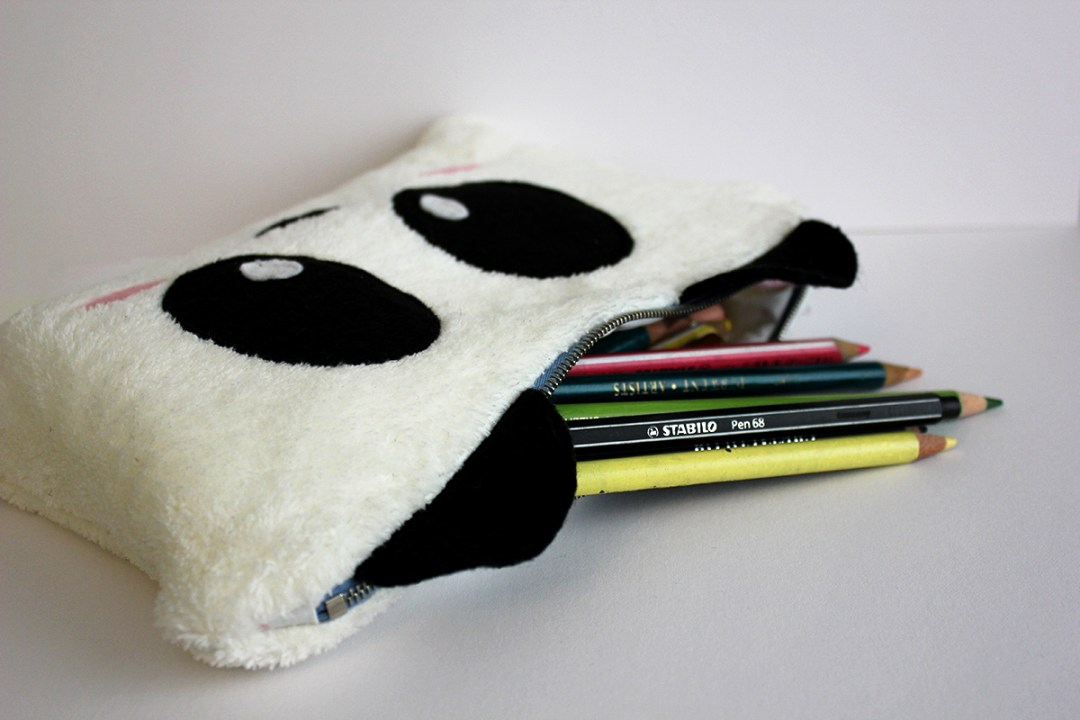 27 in 27 - DIY Panda Pencil Case