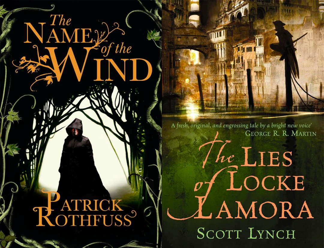 Books I want to read in 2016: The Name of the Wind and The Lies of Locke Lamora