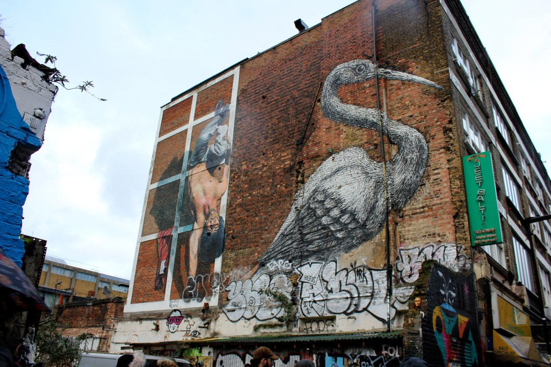 London citytrip - Enjoying street art in the East End during an Alternative London walking tour