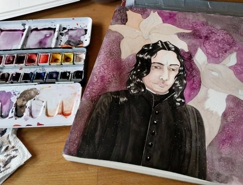 Snape fanart by Plutomeisje