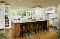 PlybooStrand Bamboo Flooring Sackett Kitchen