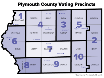 Plymouth County Voting Precincts