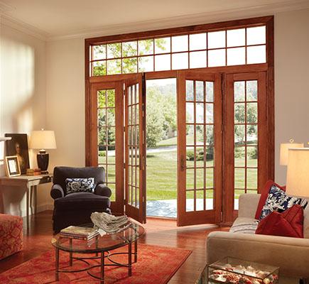 quad sliding glass doors high end