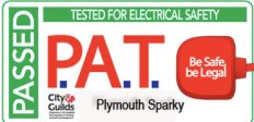 PAT - Portable appliance testing Plymouth