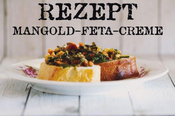 Rezept Mangold-Feta-Creme auf Baguette und Ciabatta