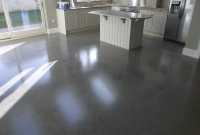 Polished concrete floor - polished to a platinum finish ...