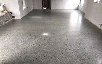 How much does a polished concrete floor cost? | P Mac