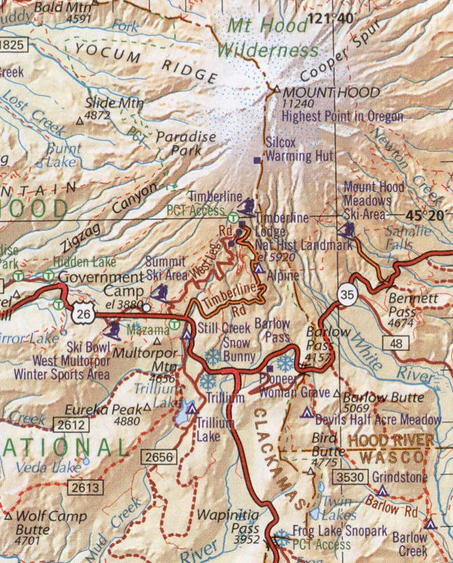 Backcountry Road Map Guide Benchmark Vs Delorme