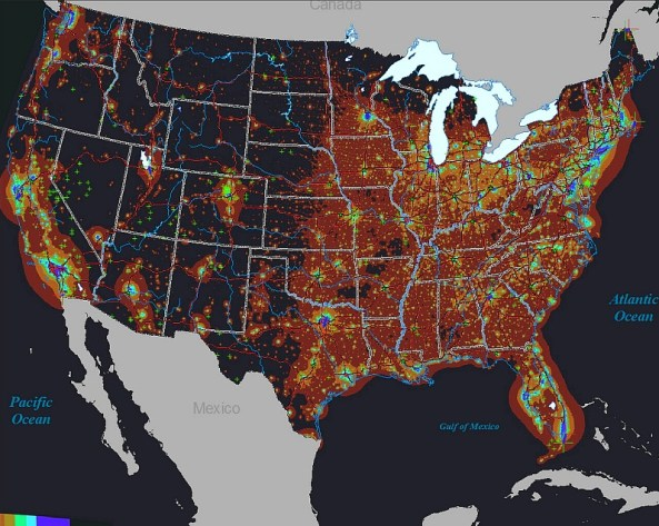 nasa-light-pollution