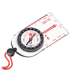 Suunto A-10 compass with lanyard. From Suunto.
