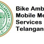 Bike Ambulance Mobile Medical Services Telangana