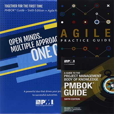 PMBOK with a complimentary Agile Practice Guide