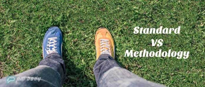 difference between standard and methodology