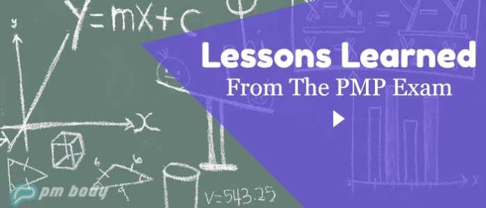 PMP Lessons Learned