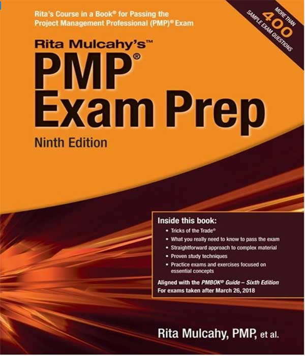Rita Mulcahy PMP Exam Prep Book