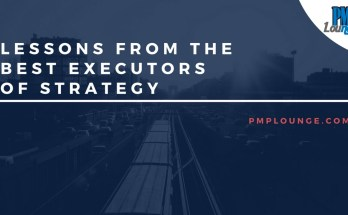 lessons from the best executors of strategy - Lessons from the best executors of strategy