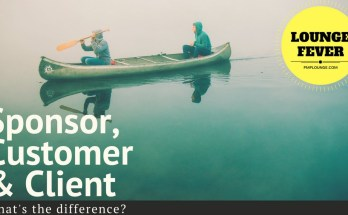 difference between sponsor customer client - What is the difference between Sponsor, Customer and Client?