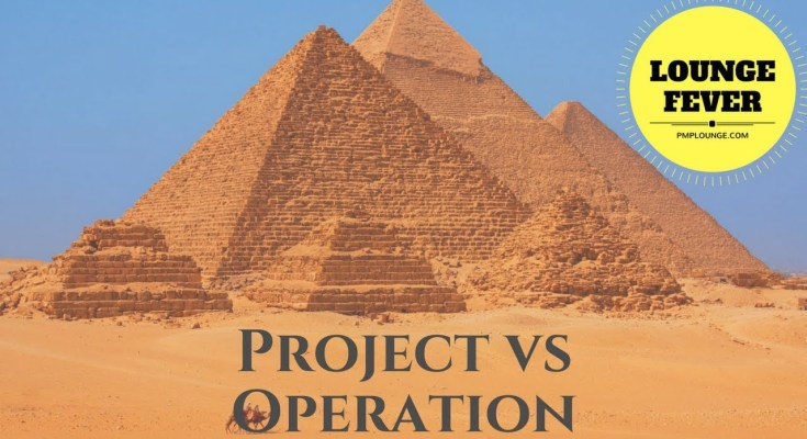 project vs operation - Project vs Operation