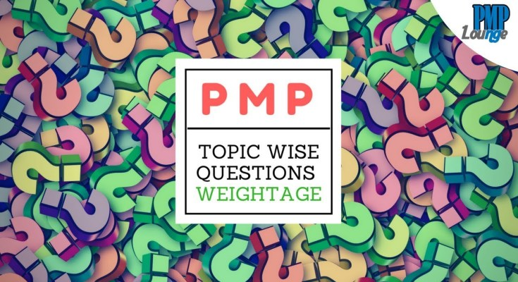 pmp topic wise questions weightage - Number of Questions related to each domain in the PMP Exam | Exam Content Outline