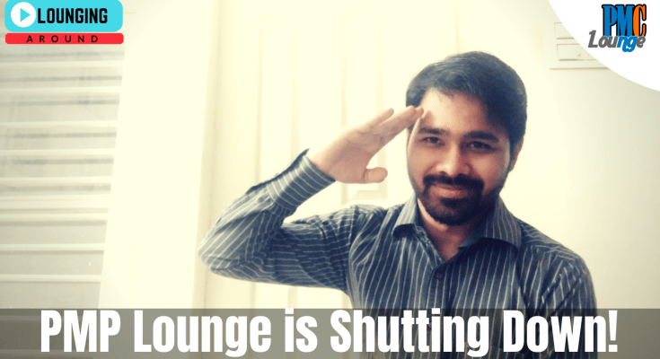 pmp lounge is shutting down pmc lounge is coming up - PMP Lounge is shutting down!