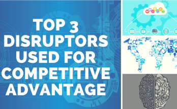 top 3 disruptors used for competitive advantage - Top 3 Disruptors used for Competitive Advantage | Top 3 Disruptive Technologies