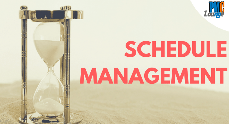 project schedule management time management basics - Schedule Management - The Basics