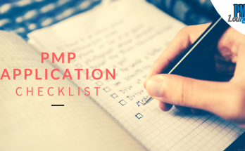 pmp application checklist